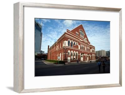 The Ryman Auditorium in Nashville Tennessee--Framed Photographic Print