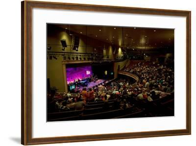 The Grand Ol Opry Night at Theryman Auditorium in Nashville Tennessee--Framed Photographic Print