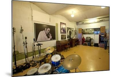 Sun Studio in Memphis Tennessee--Mounted Photographic Print