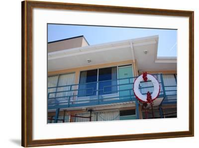 The Lorraine Motel in Memphis Tennessee Where Martin Luther King Was Assassinated--Framed Photographic Print