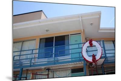 The Lorraine Motel in Memphis Tennessee Where Martin Luther King Was Assassinated--Mounted Photographic Print