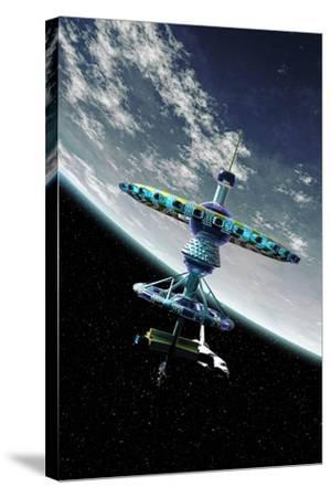Space Hotel, Artwork-Take 27 LTD-Stretched Canvas Print