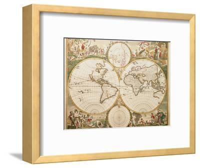 De Wit's Atlas of 1689-George Bernard-Framed Premium Photographic Print