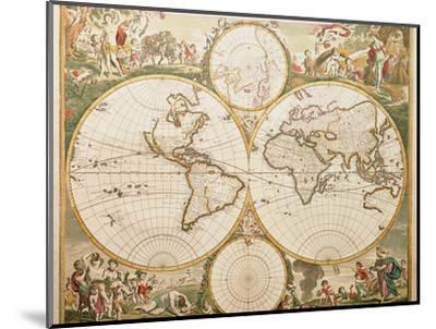 De Wit's Atlas of 1689-George Bernard-Mounted Premium Photographic Print