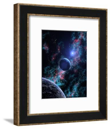 White Dwarf Planets-Julian Baum-Framed Premium Photographic Print