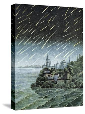 Andromedid Meteor Shower-Science, Industry and Business Library-Stretched Canvas Print