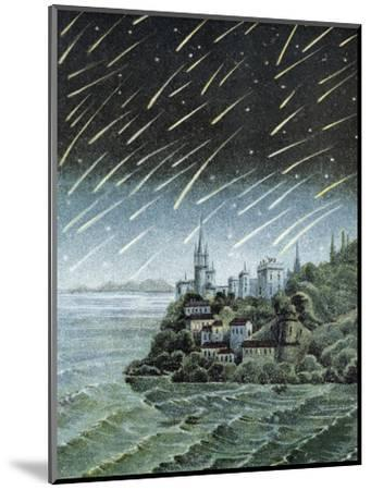 Andromedid Meteor Shower-Science, Industry and Business Library-Mounted Premium Photographic Print