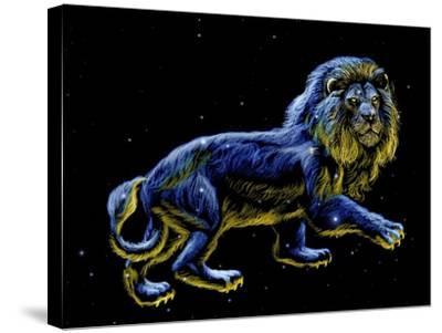 Constellation of Leo, Artwork-Chris Butler-Stretched Canvas Print
