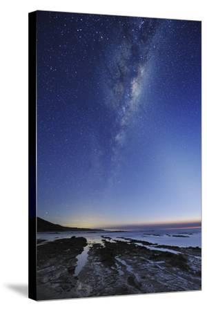 Milky Way Over Cape Otway, Australia-Alex Cherney-Stretched Canvas Print