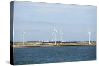 Wind Turbines, Netherlands-Colin Cuthbert-Stretched Canvas Print
