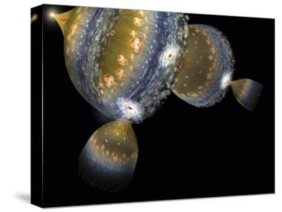 Multiple Universes, Artwork-Henning Dalhoff-Stretched Canvas Print