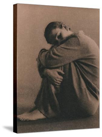 Depression-Cristina-Stretched Canvas Print