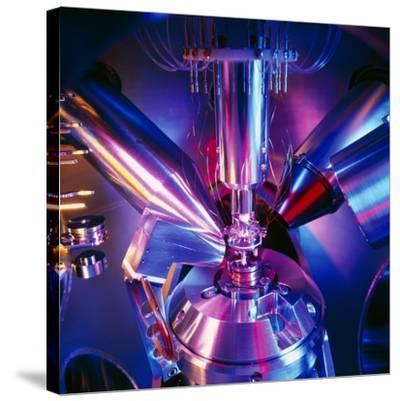 Scanning Electron Microscope-Colin Cuthbert-Stretched Canvas Print