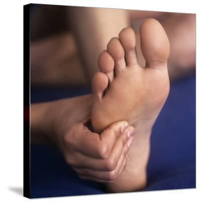 Reflexology Massage-Cristina-Stretched Canvas Print