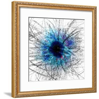 Black Hole-Christian Darkin-Framed Premium Photographic Print