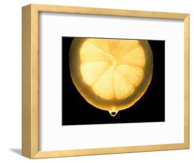 Slice of Lemon-Victor De Schwanberg-Framed Premium Photographic Print