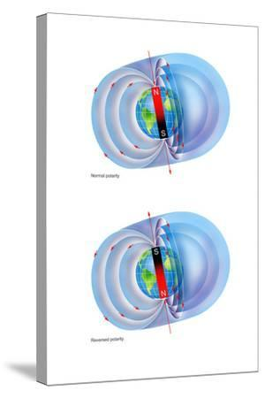 Magnetic Field Reversal-Gary Hincks-Stretched Canvas Print