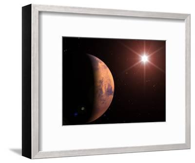Mars-Roger Harris-Framed Premium Photographic Print