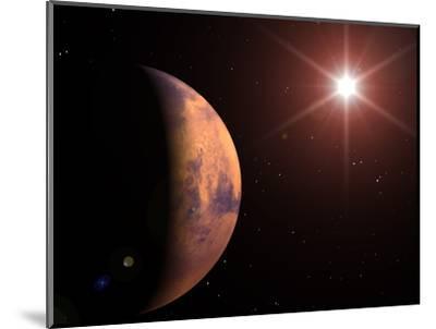 Mars-Roger Harris-Mounted Premium Photographic Print
