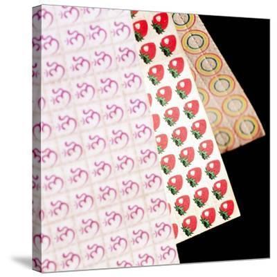 Sheets of LSD (acid) Tabs-Tek Image-Stretched Canvas Print