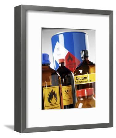 Hazardous Chemicals-Tek Image-Framed Premium Photographic Print