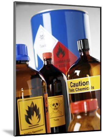 Hazardous Chemicals-Tek Image-Mounted Premium Photographic Print