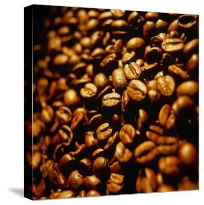 Coffee Beans-Tek Image-Stretched Canvas Print