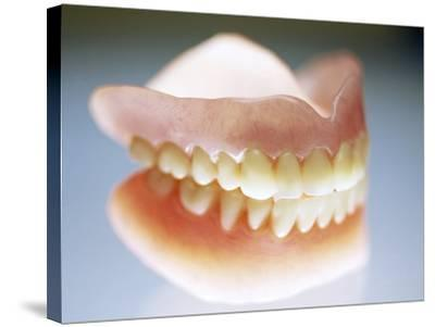 False Teeth-Lawrence Lawry-Stretched Canvas Print