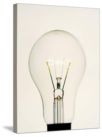 Electric Light Bulb-Lawrence Lawry-Stretched Canvas Print