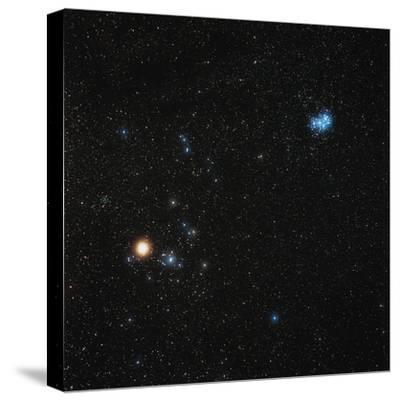 Star Clusters-Eckhard Slawik-Stretched Canvas Print