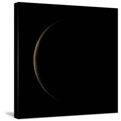 Waning Crescent Moon-Eckhard Slawik-Stretched Canvas Print
