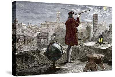 Nicolaus Copernicus, Polish Astronomer-Sheila Terry-Stretched Canvas Print