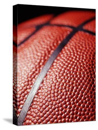 Basketball-Tony McConnell-Stretched Canvas Print
