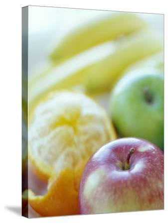 Fruits-David Munns-Stretched Canvas Print