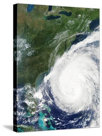 Hurricane Isabel, 17th September 2003--Stretched Canvas Print