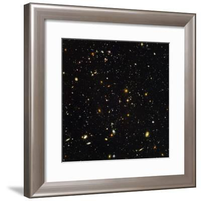 Hubble Ultra Deep Field Galaxies--Framed Premium Photographic Print