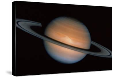 Saturn--Stretched Canvas Print