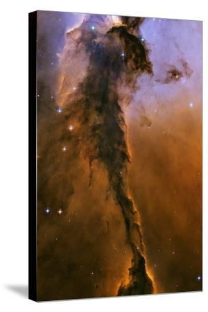 Gas Pillar In the Eagle Nebula--Stretched Canvas Print
