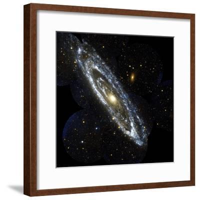 Andromeda Galaxy, UV Image--Framed Premium Photographic Print