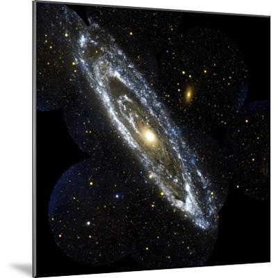 Andromeda Galaxy, UV Image--Mounted Premium Photographic Print
