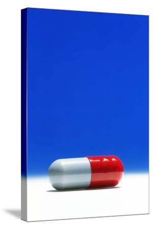 Capsule of Broad-spectrum Antibiotic Drug-David Parker-Stretched Canvas Print