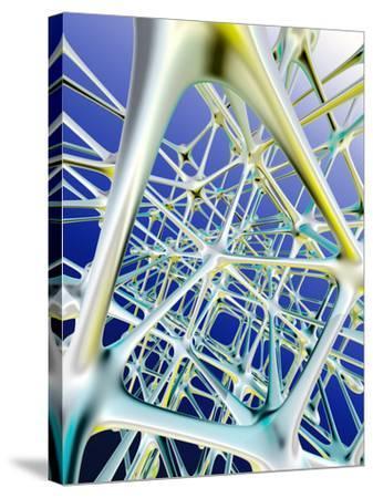 Nerve Cells-PASIEKA-Stretched Canvas Print