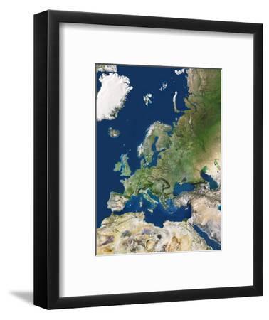 Europe-PLANETOBSERVER-Framed Premium Photographic Print