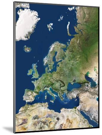 Europe-PLANETOBSERVER-Mounted Premium Photographic Print