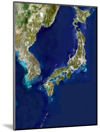 Japan And Korea, Satellite Image-PLANETOBSERVER-Mounted Premium Photographic Print