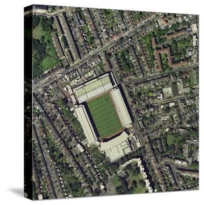 Arsenal's Highbury Stadium, Aerial View-Getmapping Plc-Stretched Canvas Print