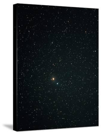 Optical Image of Mars Near the Bright Star Spica-John Sanford-Stretched Canvas Print