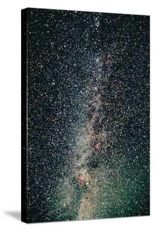 Milky Way-John Sanford-Stretched Canvas Print