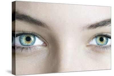 Woman's Eyes-Science Photo Library-Stretched Canvas Print