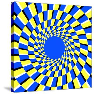 Peripheral Drift Illusion-Science Photo Library-Stretched Canvas Print